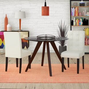 Pine Island Parsons Chairs in Ivory (Set of 2)