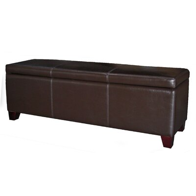 Leather Ottomans You Ll Love Wayfair
