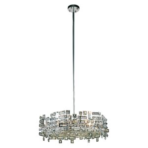 Nancee Contemporary 6-Light Crystal Chandelier