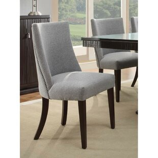 Maumee Upholstered Dining Chair (Set Of 2) Great price
