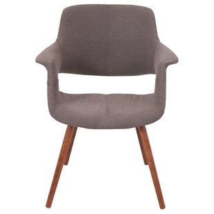 Wood Arm Side Chair | Wayfair