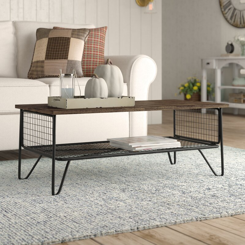 20 Eye Catching Under Stairs Wine Storage Ideas: Laurel Foundry Modern Farmhouse Odile Coffee Table