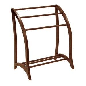 Walnut Quilt Rack by Darby Home Co