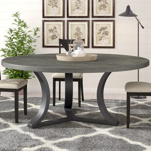 Round Stone Top Dining Table Wayfair - Wood and stone dining table