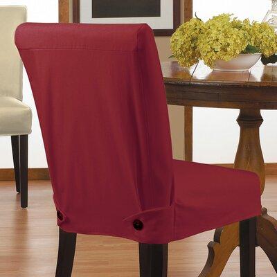T Cushion Parson Chair Skirted Slipcover Set Of 4