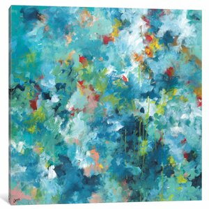 Rainforest Painting on Wrapped Canvas