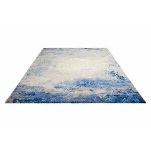 Antigua Blue/Gray Indoor Area Rug