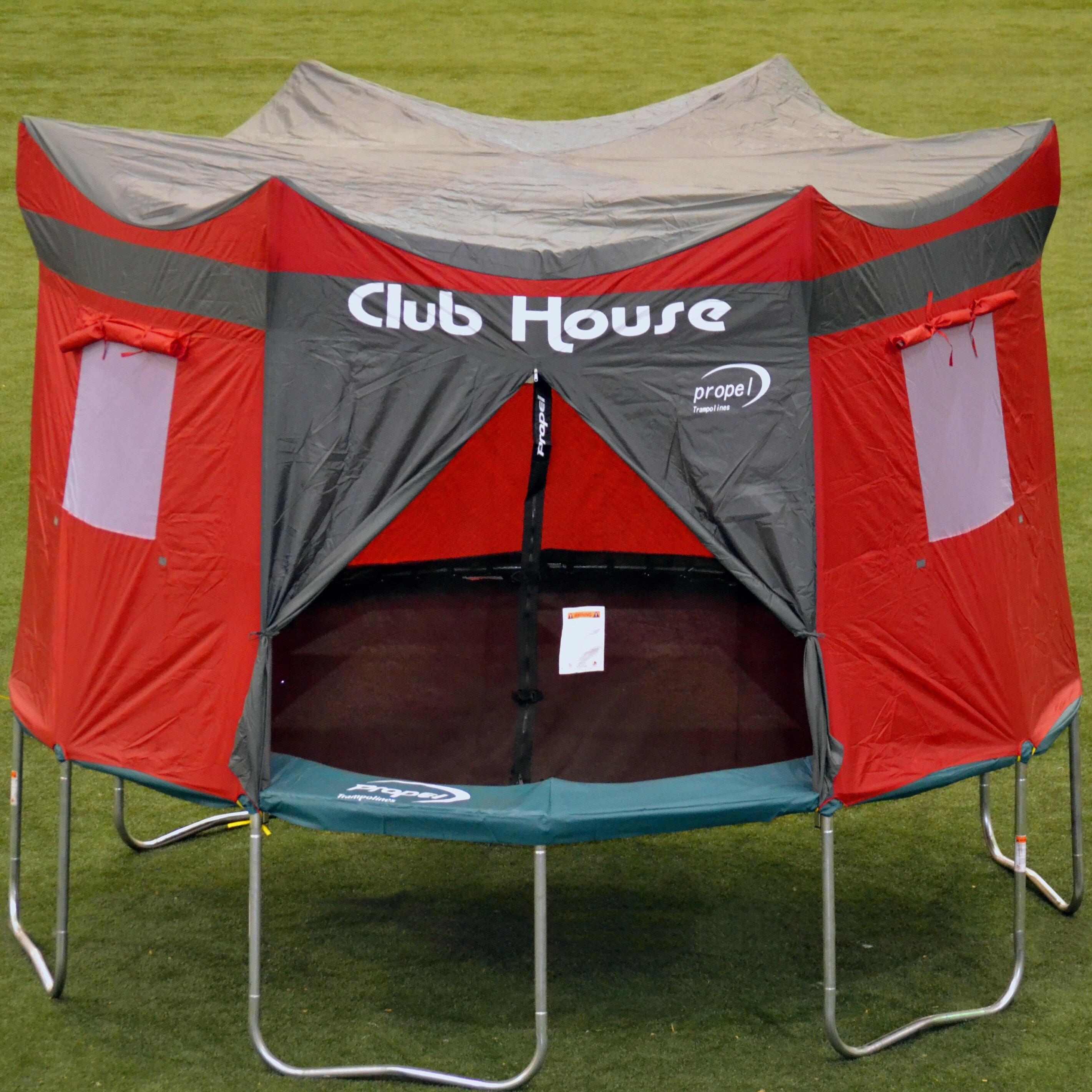 & Propel Trampolines 15u0027 Trampoline Clubhouse u0026 Reviews | Wayfair