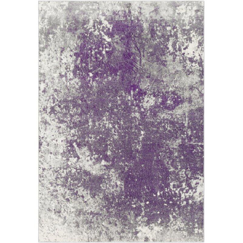 Williston Forge Candelaria Abstract Medium Gray Dark