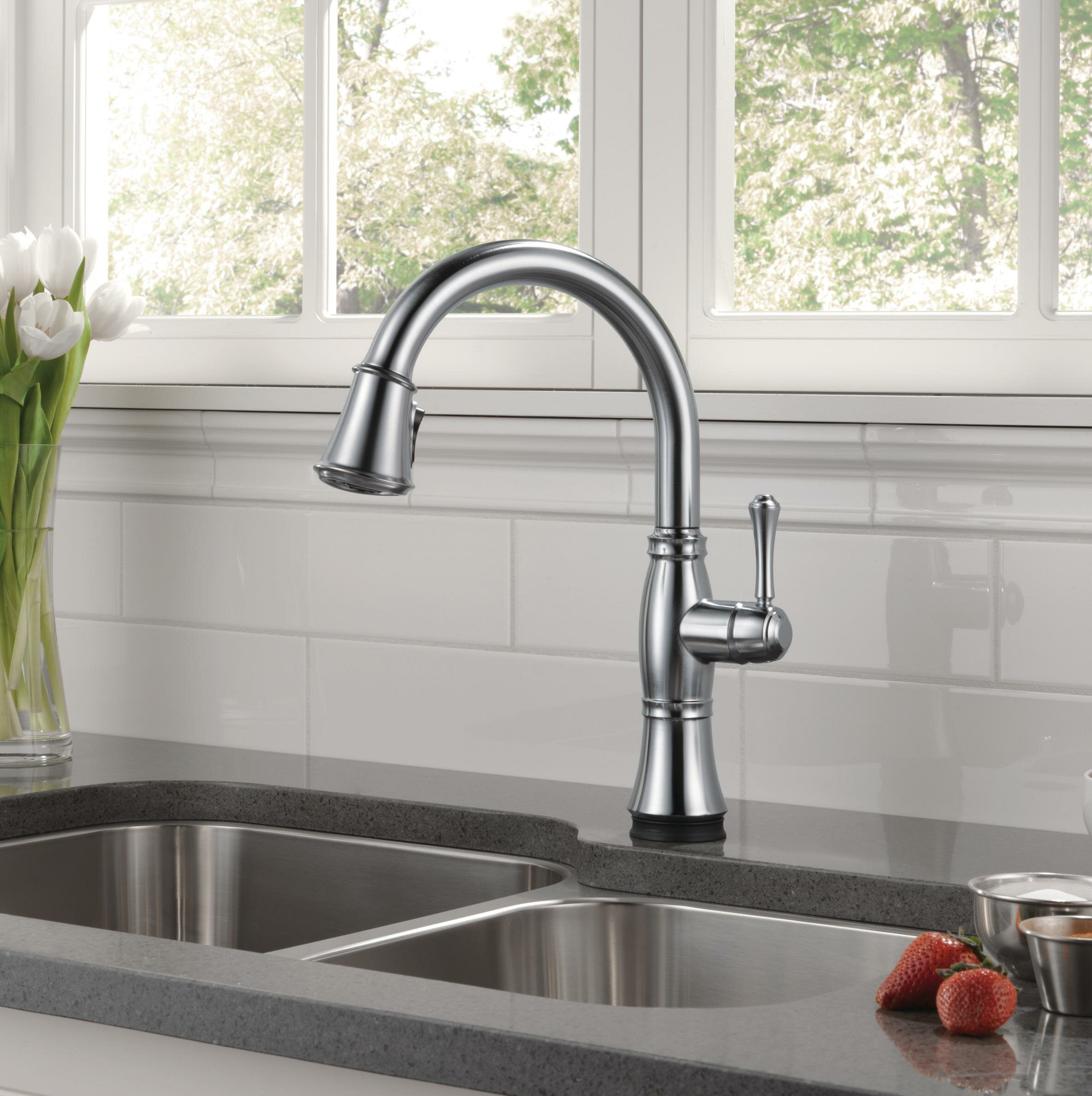Delta Cassidy Touch20 Kitchen Faucet | Wow Blog