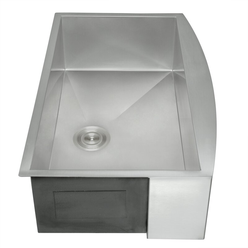 Akdy 33 Quot X 22 Quot Farmhouse Kitchen Sink With Dish Grid And
