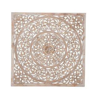 Rustic Wood Ornate Wall Decor