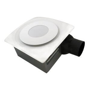 SlimFit 90 CFM Bathroom Fan With Light