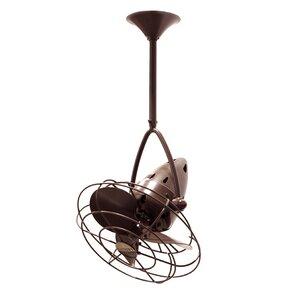 13″ Jarold 3 Metal Blade Ceiling Fan
