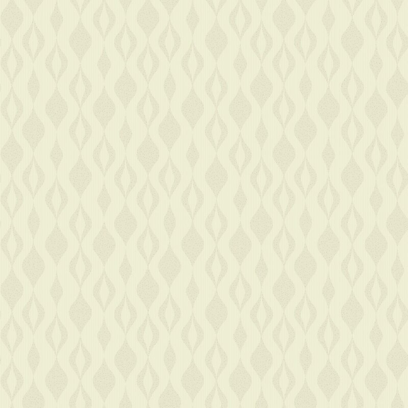 York Wallcoverings Glam Ogee Chain 33 X 20 5 Quot Geometric