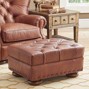 Miller Leather Ottoman by Birch Lane?
