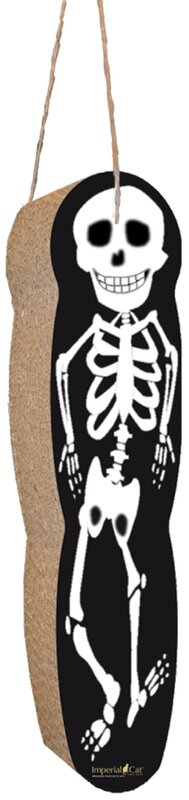 Scratch 'n Shapes Skeleton Hanging Recycled Paper Scratching Board