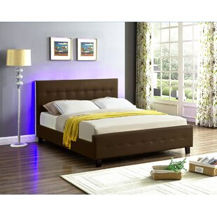 sneakers for cheap a6c9b b5110 Lighted Headboard Panel Beds You'll Love in 2019 | Wayfair