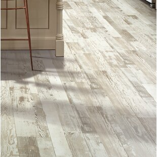 Cashe Hills 7 5 X 47 25 87mm Pine Laminate Flooring In White