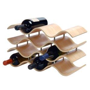 Wittmer 10 Bottle Tabletop Wine Rack by Wade Logan