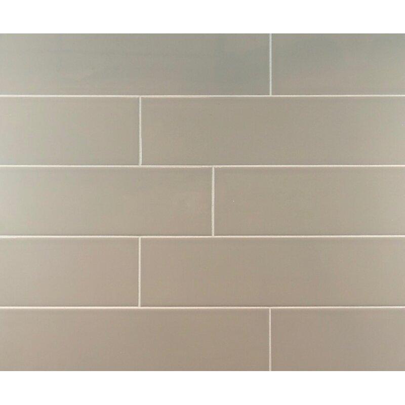 Mulia Tile Classic Subway 4 Quot X 16 Quot Tile In Light Taupe
