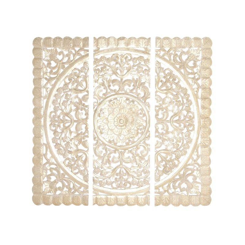 3 Piece Wood Panel Wall Décor Set Reviews Birch Lane