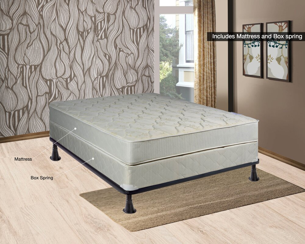 Spinal Solution 8 Quot Firm Innerspring Mattress With Box