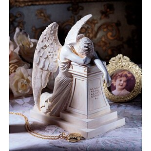 Angel Of Grief Monument Figurine. By Design Toscano