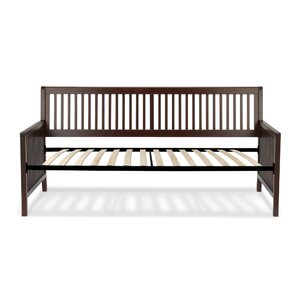 Alhambra Wood Daybed with Open-Slatted Panels by Winston Porter