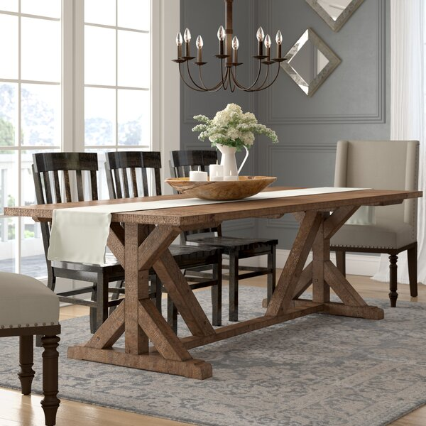 Lark Manor Abbey Dining Table Reviews Wayfair Amazing Picture Of A Dining Room