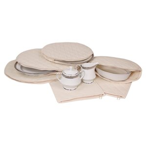 Tabletop 6 Piece Dinning Plates Storage Set