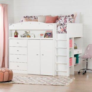 Teen Girl Loft Bed With Desk Wayfair