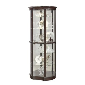 Beron Lighted Curio Cabinet by Astoria Gr..