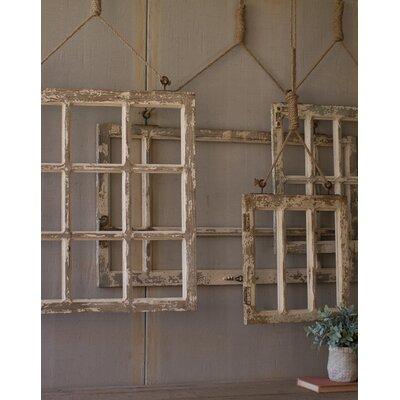 Union Rustic Old Rustic Barn Window Frame & Reviews | Wayfair