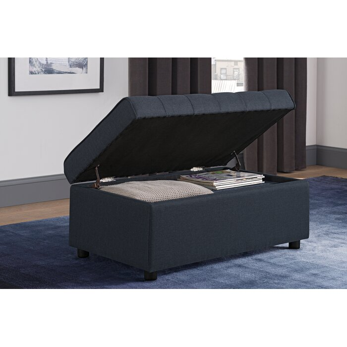 Collections Of Littrell Square Storage Ottoman