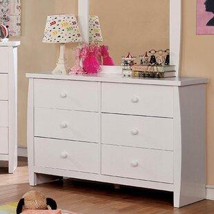 Kids White Dresser With Mirror Wayfair