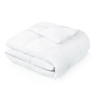 Alwyn Home All Season Down Comforter Size: Oversized King