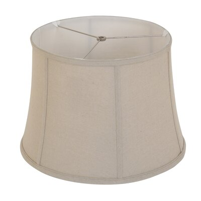 Maisie 15 linen drum lamp shade reviews joss main yvonne 16 linen bell lamp shade mozeypictures Choice Image