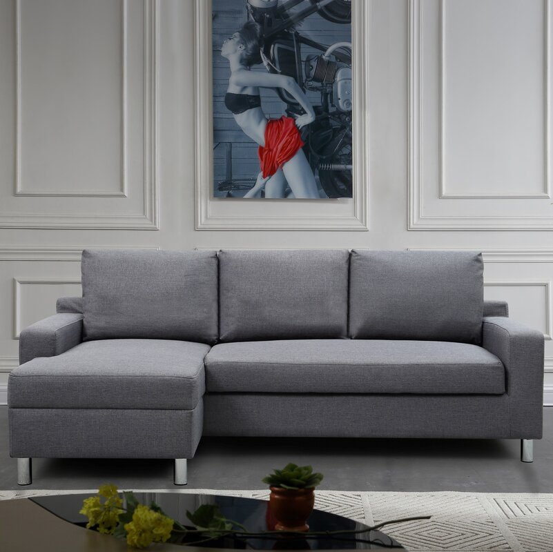 Small Sectional Sofas You\'ll Love   Wayfair
