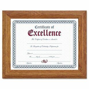 certificate frames 11x14 wayfair