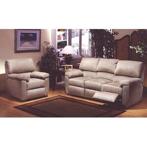 Omnia Leather Vercelli Leather Configurable Living Room Set