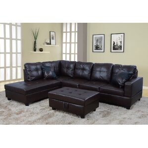 Russ Sectional  sc 1 st  Wayfair : brown sectional - Sectionals, Sofas & Couches
