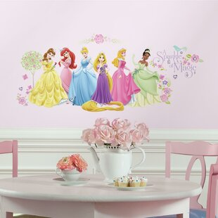 Popular Characters Disney Princess Wall Decal