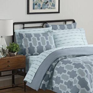 Nantes 7 Piece Reversible Comforter Set