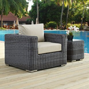 Summon Outdoor Patio Armchair With Cushion. By Modway