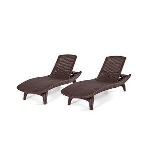 Clarita Chaise Lounge (Set of 2)