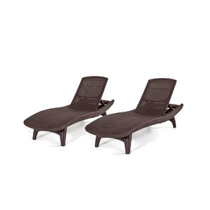 Danvers Patio Chaise Lounge (Set Of 2)