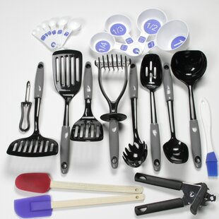 Kitchen utensil sets youll love wayfair save to idea board teraionfo