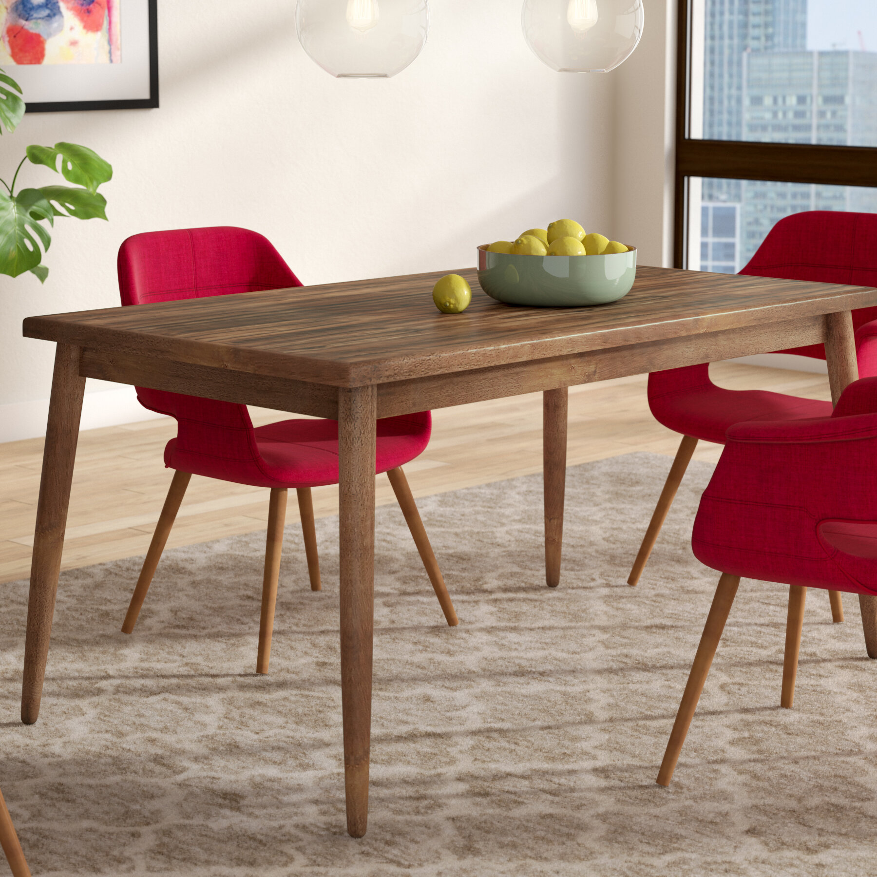 37fab54cce71 Langley Street Lydia Dining Table & Reviews | Wayfair