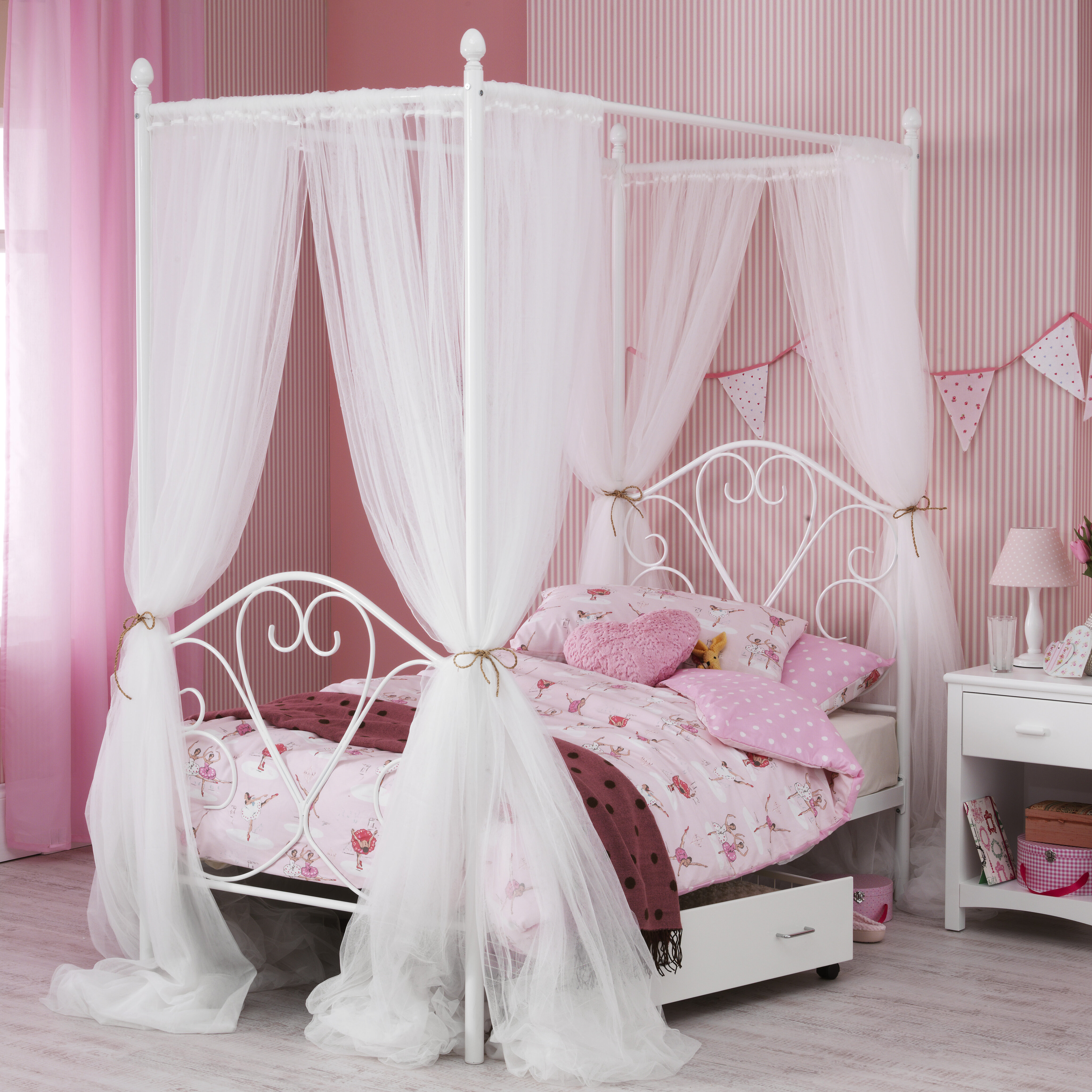 temple sku bed webster day db four poster cv